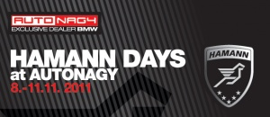 HAMANN DAYS as AUTONAGY (8.-11.11.2011)